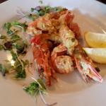 Yummo ... tiger prawns and scampi!!!