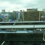 浜松駅ビルメイワン7F「とろろや」からの眺め