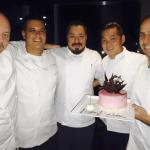 The Chefs (Chef Jason holding my birthday cake)