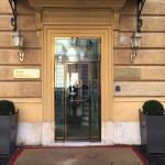 Entrada al hotel Arcangelo