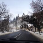 Towards the Bran castle