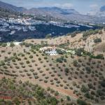 Boven op de berg Casa Alopra