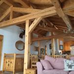 Living room at Jamais Bleu