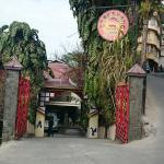 Entrance gate of the resort
