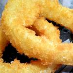 Delicious onion rings!