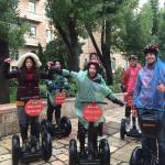 Segway tour in the rain Amazing experience!