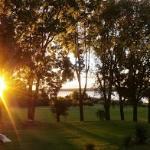 Spring Sunrise At the Bayside Motel