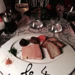 Terrine de foie gras maison.