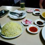 Chicken biryani - superb!