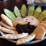Absolutely DIVINE (hummus plate)