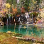 Hanging lake in fall