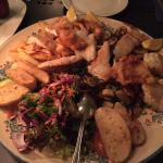 Fish platter for two, 19€ per person and absolutely the best seafood I've had in all of Europe.