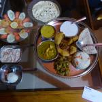 The thali meat which was delicious