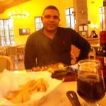 Cenando en el hotel Fiesta Inn