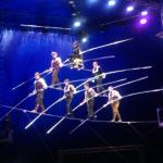 The Walenda High Wire Pyramid