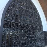 Very unusual shape church well worth a look