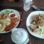 sea food combo ,,, and pad thai :) very nice