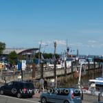 Blick auf das Pier