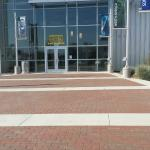 Main Entrance to the Museum--Paved with Memorial Bricks