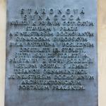 Inscrição na Sinagoga