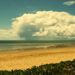 Storm over Fraser Island
