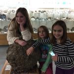 Grandaughters enjoying the Rice Museum