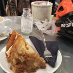 Cake and Americano...