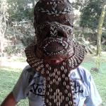 One of the many Congo masks for sale