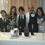 יין בלובי המלון לפני ארוחת ערב