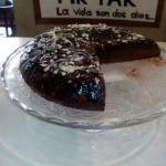 Tarta de chocolate casera , increible!