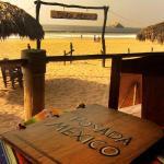 Vista de la Playa desde el Restaurante