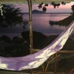 Le Paradis au coucher du soleil