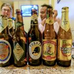 A selection of beers - Drank brews from Ethiopia, Kenya and Brazil