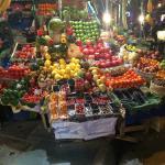 Market down street