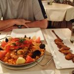 Siglo's seafood paella for 2 persons
