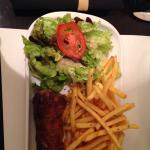 Andouillette sausage. If you are not use to strong tasting food, do not order this