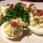 Deviled Eggs w Real Bacon Bits