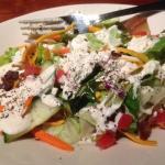 Alex's Salad w Blue Cheese Dressing