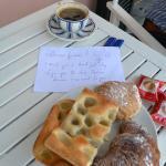 Lorenza's wonderful morning greeting