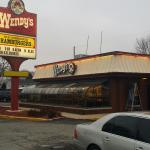 The Front of the Smyrna Delaware Wendy's