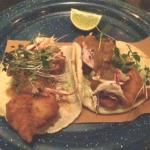 "Shrimp tacos ""Enchapulinados"""