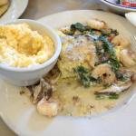 Coastal Delight w/ Cheese Grits