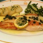 Trout in a Capers Sauce
