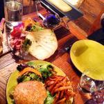 Raclette et Burger