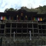 清水寺に似た本堂