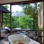 Bathroom with a view 1 bedroom pool villa