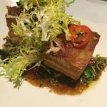 Pork belly... Speechless! Words cannot explain how delicious this was! I've never had better!