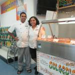 Owners George and Solly - great food!