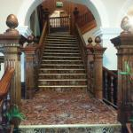 Historical stair case