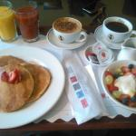 Comfort Inn, Ballarat - Lovely, Quality Breakfast. Thank you. [08.02.2015]